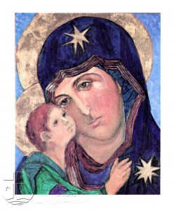 Carmelite Sisters of Reno Christmas Card