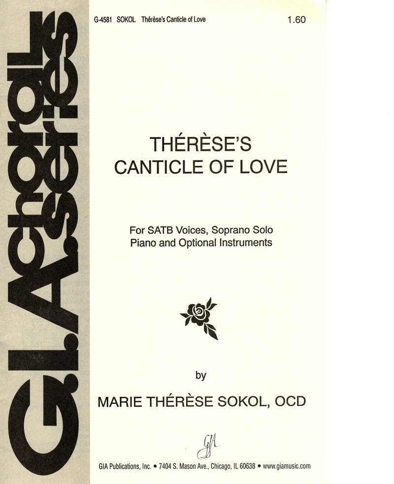 Canticles of Love sheet music