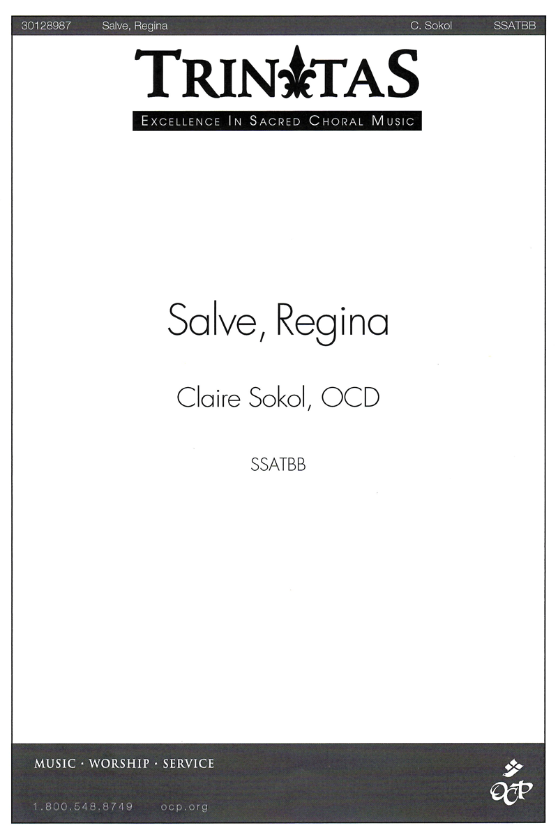 Salve, Regina sheet music
