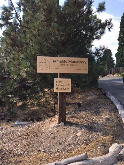 Carmel of Reno New Sign