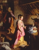 C-378 ADORATION OF THE CHILD