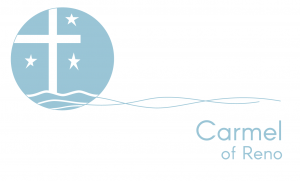 Carmel of Reno Blue Logo