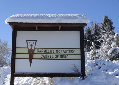 Snowcovered Signpost